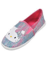 "Hello Kitty Girls' ""Krissy"" Slip-On Sneakers (Youth Sizes 13 - 3)"