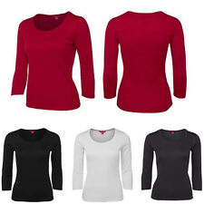 3/4 Sleeve Shirt Blouse Ladies Top Women Tee Polyester Size 8-24 REDUCED LAST 2