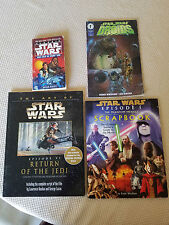 Star Wars book and comic lot - The Art of Star Wars Return of the Jedi + Extras