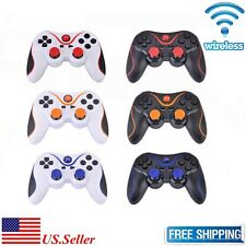 New Wireless Bluetooth Game Controllers For Sony PS3 Playstation 3 w/ Cable