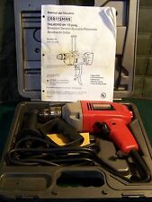 """Craftsman 315.101250 1/2"""" Special Edition Corded Drill w/ Case - Used (Rarely)"""