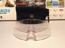 Revision Military Clear lens w/ CASE - Includes 2 Clear lenses in Diff Sizes