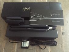 GHD Platinum Black Hair Straightener / Styler Professional Use Only