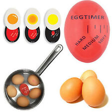 Egg Color Changing Timer Yummy Soft Hard Boiled Eggs Cooking Kitchen Tools Gift