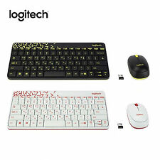 Logitech MK240 NANO USB Receiver 2.4GHz Wireless Keyboard and Mouse Combo