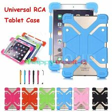 "Flexible Shockproof Soft Silicone Case Cover For RCA 10"" 10.1"" Inch Tablet MID"