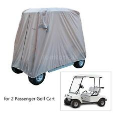2/4 Seater Waterproof Heavy Duty Golf Cart Buggy Golfcar Storage Cover  DD C5Z4