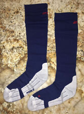 2XU Compression Performance Run Running Socks Navy Blue Red NEW Mens Sz XS S M
