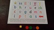PHONICS - Letters & Sounds - phase 2-5 - fun learning game - read/write/spell
