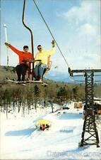 1961 Stowe VT Spruce Peak Double Chair Lift Teich Lamoille County Vermont Chrome