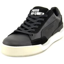 Alexander McQueen By Puma Move Lo Lace Up Men Round Toe Leather Black Sneakers