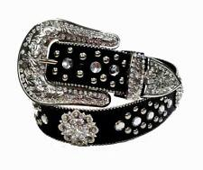 "Western Rhinestone Cowgirl Bling Women Berry Concho Belt Wholesale 1.5"" 50128"