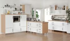 High Gloss White Kitchen Cupboard Doors and Drawers