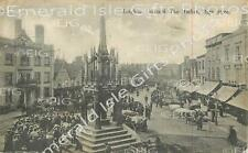 Bedfordshire Leighton Buzzard The Market High Street b/w early Old Print