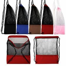 Ultralight Sack Travel Sport Pack Mesh Bag Backpack Drawstring