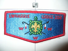 OA Uwharrie Lodge 208,S-9,1979, LBL Turtle Flap,70,163,Council,North Carolina,NC