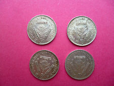 SOUTH AFRICA 3 PENCE SILVER COINS