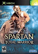 Spartan: Total Warrior (Microsoft Xbox, 2005) Disc Only. Clean. Tested.