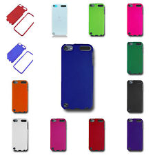 For iPod Touch 5 Case - Hard Slim Fit Snap On Rubberized Matte Shell Cover