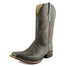 Circle G by Corral L5258 Women D Square Toe Leather Brown Western Boot