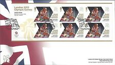 GB 2012 FDC OLYMPIC GOLD MEDAL WINNERS FIRST DAY COVERS MULTIPLE LISTING