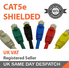 Shielded Cat 5e Network Cable Gigabit Ethernet Cable High Speed CAT5e FTP Choose