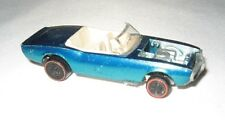 hot wheels redline custom firebird white int. 1968 aqua