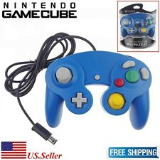 NEW Game Controller for Nintendo Gamecube NGC or Wii Multiple Colors--Blue