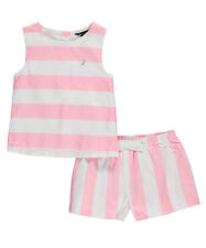 "Nautica Little Girls' Toddler ""Sea Breeze"" 2-Piece Outfit (Sizes 2T - 4T)"