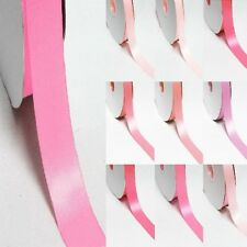 """3 Yards Double Sided 2-1/4"""" /57mm Discount Satin Ribbon. Pink s"""
