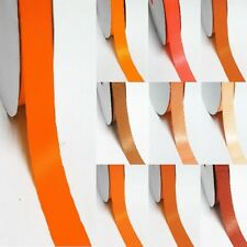 """3 Yards Double Sided 2-1/4"""" / 57mm Discount Satin Ribbon  Yellow-Orange"""