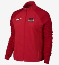 NIKE Flex Kenya Olympic Team L/S Red Reflective Training Running Jacket Womens M