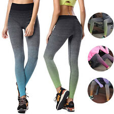 Women's Sports Pants Fitness Gym Yoga Stretch Athletic Legging Trousers Workout