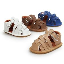 Baby Kids Infant Girl Soft Sole Crib Toddler Summer Sandals Shoes 0-18M Lovely