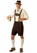 Bavarian Guy Oktoberfest Lederhosen German Beer Men Costume