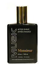 Monsieur Musk by Dana 4 oz Aftershave for Men New In Box