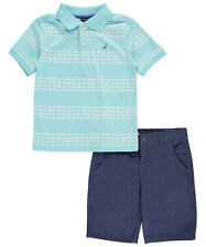 "Nautica Little Boys' Toddler ""Crabwalk"" 2-Piece Outfit (Sizes 2T - 4T)"