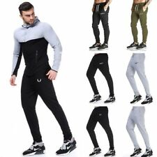 Men Tracksuit Sweatpants Gym Jogging Sports Fitness Skinny Casual Pants Trouser