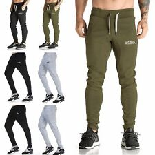 Men's Casual Sweatpants Tracksuit Jogging Running Skinny Gym Sport Pants Trouser