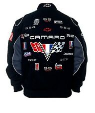 2017 Authentic Corvette Racing Embroidered Cotton Jacket  JH Design Red new