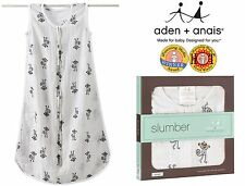Sleeping Bags (Monkeys) - Aden and Anais Top Quality Muslin - iParenting Awards