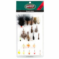Umpqua Great Lakes Fly Fishing Deluxe and Guide Fly Selections Assortments