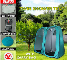Waterproof Change Room Shelter Portable Camping Duo Shower Toilet Tent Hammock