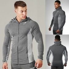 Men Sport Hoodie Coat Muscle Brothers Hoody Sweatshirt Gymshark Fitness Outwear