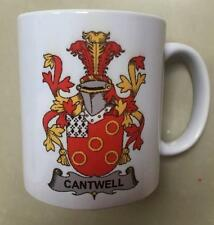 Your Family Coat of Arms Crest on Coffee CUP MUG - HEFFERAN to HESSION