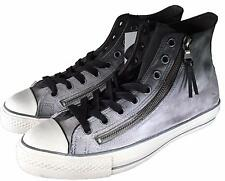 Converse by John Varvatos CTAS Double Zip Leather Sneaker Black Fade 151273C