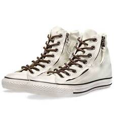 Converse John Varvatos Double Zip Hi All Star Chuck Taylor Off White 136881c