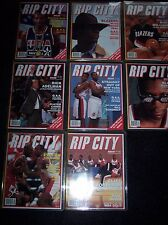Rip City Magazine Premiere Issues, Vol.1 Issue 1-8, including action posters