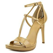 Michael Michael Kors Simone Sandal T Strap Women Open Toe Patent Leather Sandals