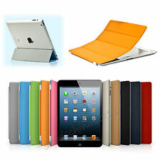 Smart Front Cover Wake/Sleep Stand Magnetic Case For Apple iPad 2 3 4 Mini Air